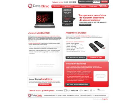 dataclinic webdesign by diego64