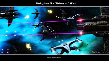 Babylon 5 - Tides of War by Mallacore
