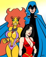 New Teen Titans by MCRE1201