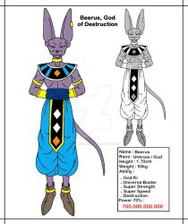 [DBMX] Beerus, The God Of Destruction by Cheetah-King