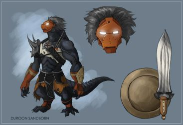 Duroon Sandborn Reference Sheet by Dingoat