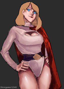 Power Girl by shinigame12345