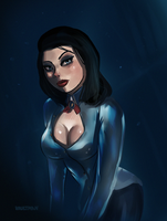Burial at sea - Elizabeth by VaultMan