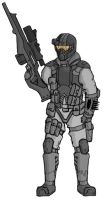 Archangel - Nighthawk Sniper by HeavyBenny