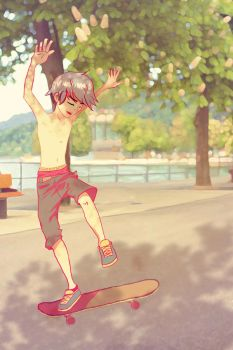 Skaters keep me up all night... by Xag