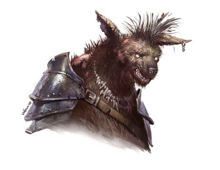 Gnoll-Necromancer by velinov