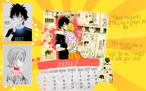 BossuHime 2013 Calendar: MAY by 94ale
