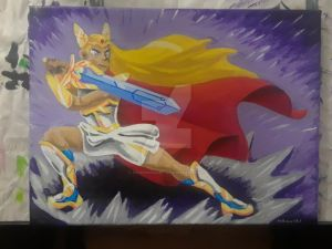 She-Ra, con painting