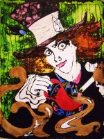 Mad Hatter poster by Nonsensicle
