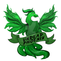 Undead Phoenix by ohfawn