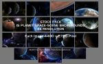15 Space and Planet Backgrounds - Stock Pack by Euderion