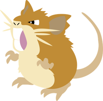 Raticate Vector by ChelaGirl