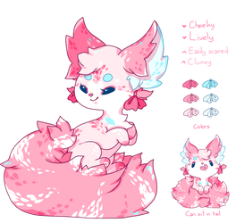 Pink, Fluffy Adopt Design *CLOSED* by Reminel