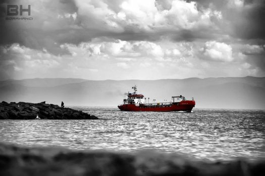The Red Boat by borahanci