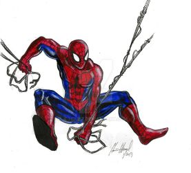 Painted Spidey 1-5-19 by hdub7
