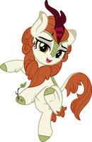 MLP Vector - Autumn Blaze #4 by jhayarr23