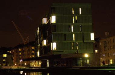 Canal Side Flats by kingofechidnas