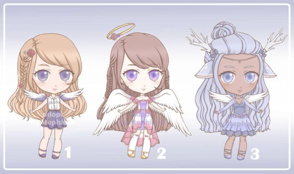 Angel Adopt Batch~ (OPEN) by Stephie-Jo
