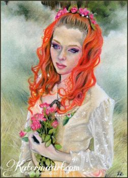 Longing for spring by Katerina-Art