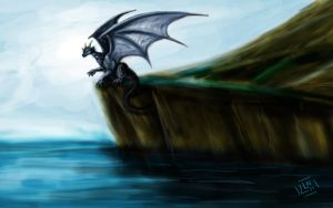 Dragon at the Sea by Zaera