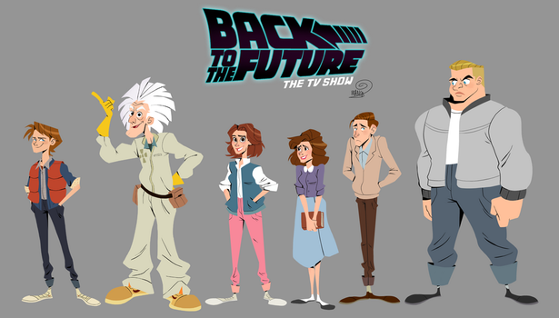 Back To The Future- The Tv Show by chillyfranco