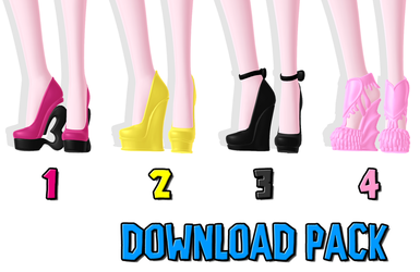 DOWNLOAD: Shoe Pack 1 by DisastrousBunny
