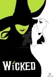 Wicked - Poster by Izzy95