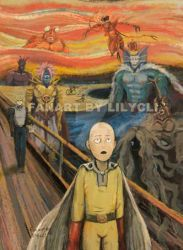 One Punch Man by lilythescorpio