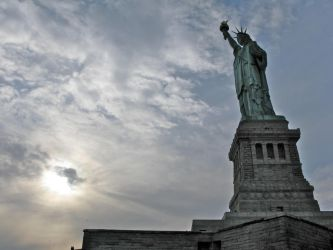 statue of liberty. by reeceb