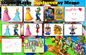 Mario controversy meme by HomuPeachy