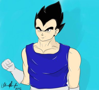 VEGETA- Dragon Ball Z by deniswfb