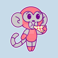 DMO EAT PIZZA shirt design by IDROIDMONKEY