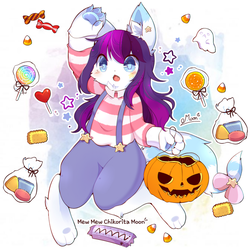 [YCH Commission] Twily Star (Halloween 2018) by ChikoritaMoon