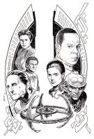 STAR TREK: DEEP SPACE NINE #1 by Jerome-K-Moore