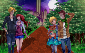 COMMISSION: paseo casual....? by yuniex7
