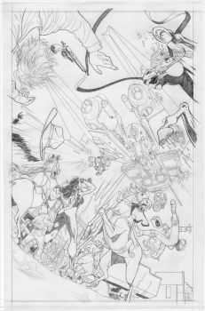 Fantastic Four Page5 by RRatton