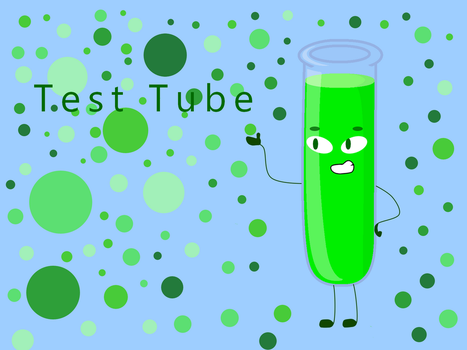 The Lovely Test Tube by PikachuPuddingXD