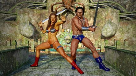 Golden Axe - Two Players by Janus3003