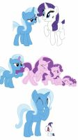Trixie's at it again  by KittyTheNerd