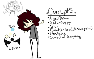 .CorruptS Ref Sheet. by spr1ngfl0wers
