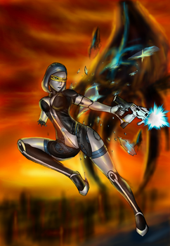 Mass Effect 3 : We will never surrender ! by Lel0uch