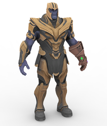 Thanos - Fortnite by papkapapka