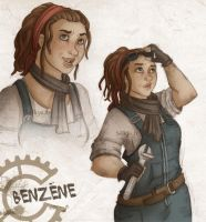 Benzene by Selkys