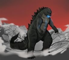 King of the Monsters by LS-Leon