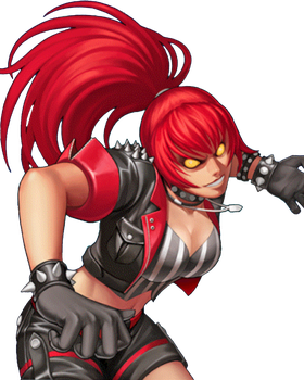 King of FIghters 98 UM OL Orochi Leona by hes6789