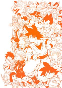 dragon ball by MIRRORMASTER