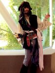 Captain Jack Sparrow by Makenchi45