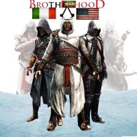 Assassin's creed Brotherhood by IAmDashing12