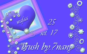 25 brush set 17 by 7nany