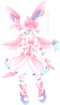 Sylveon Inkling by Ghiraham-Sandwich